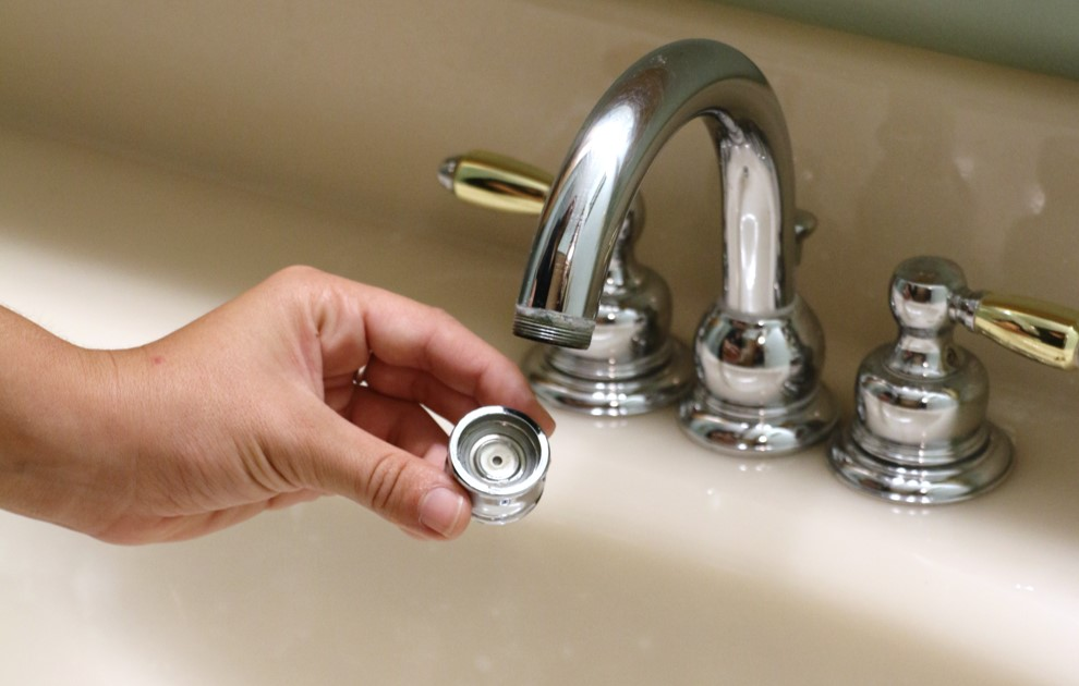 Aerate Your Faucets