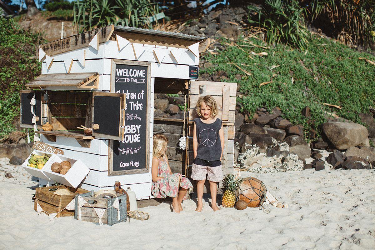 Beach Shack Cubby House