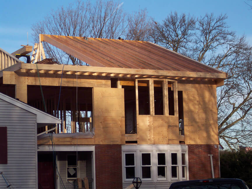 Building Home Addition