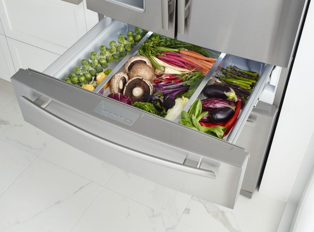 Climate controlled drawers
