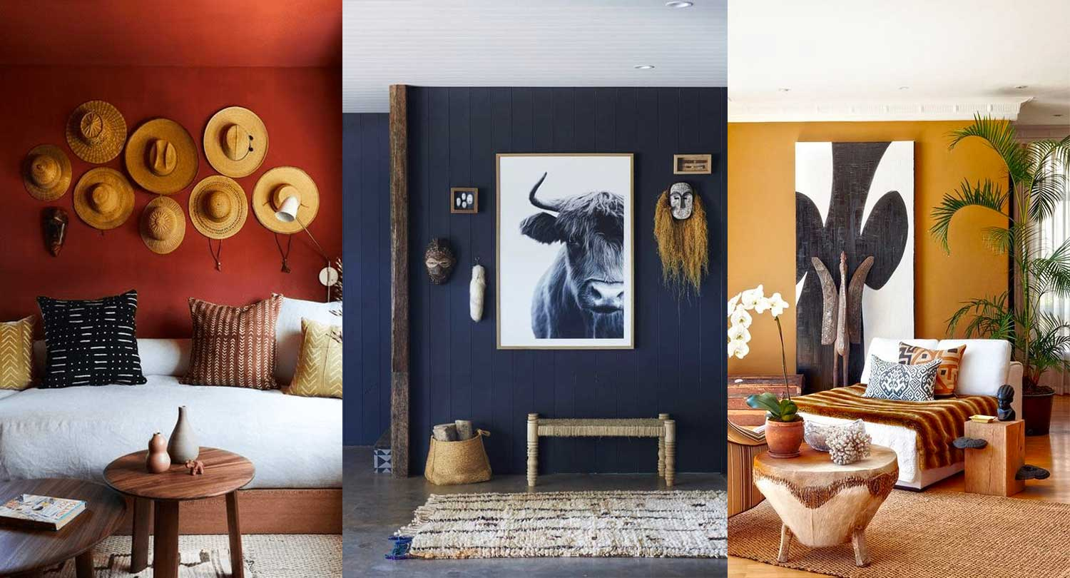 Colour palette for room