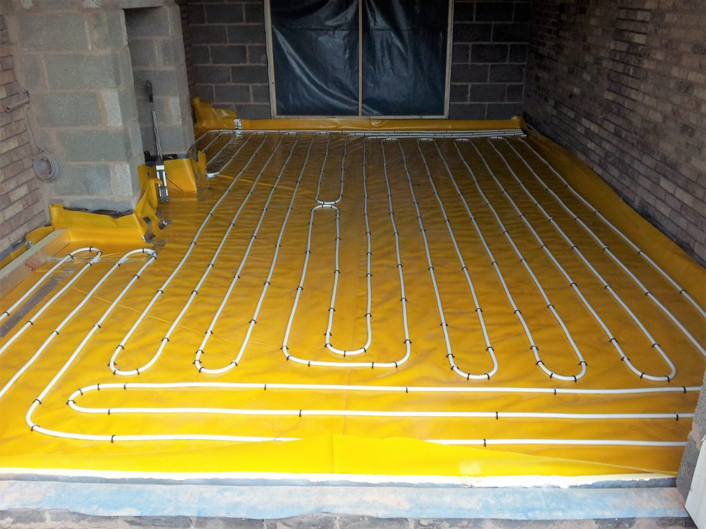 Combi Boilers underfloor