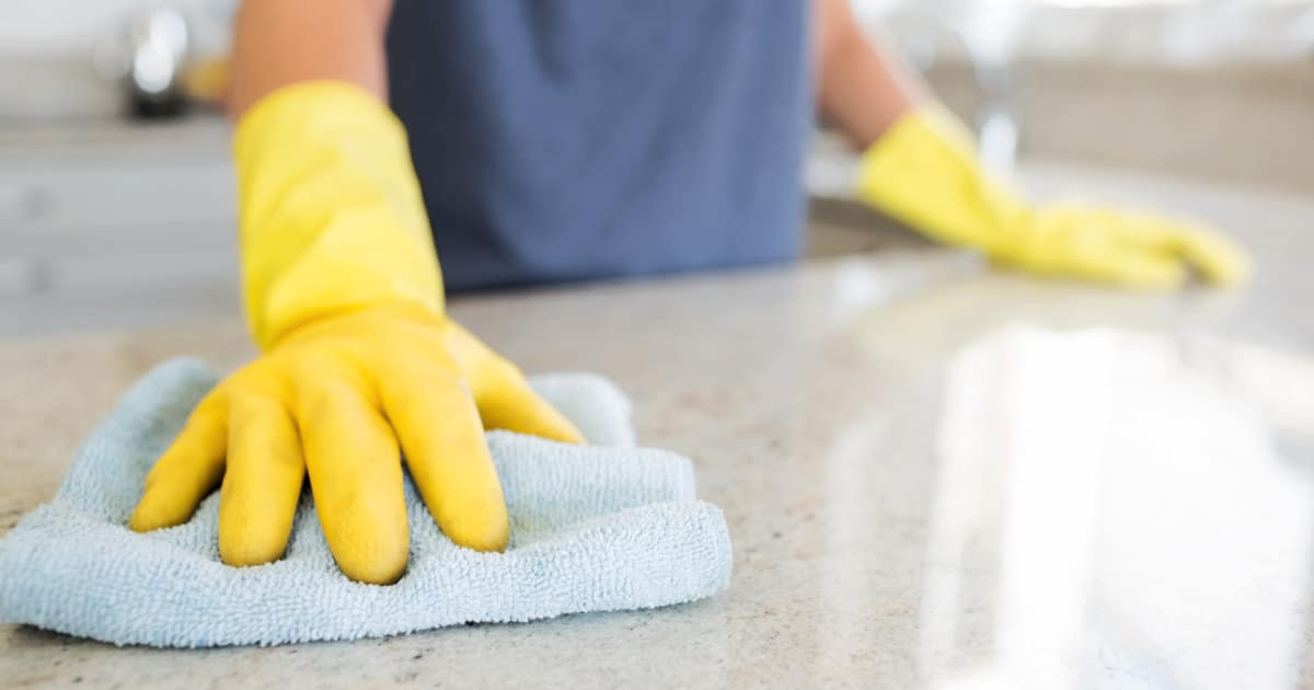 Commercial Granite cleaning