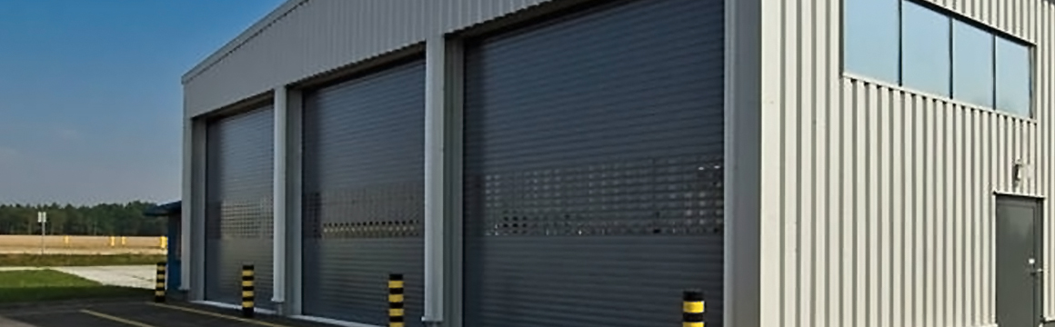 Double-wall commercial security shutters