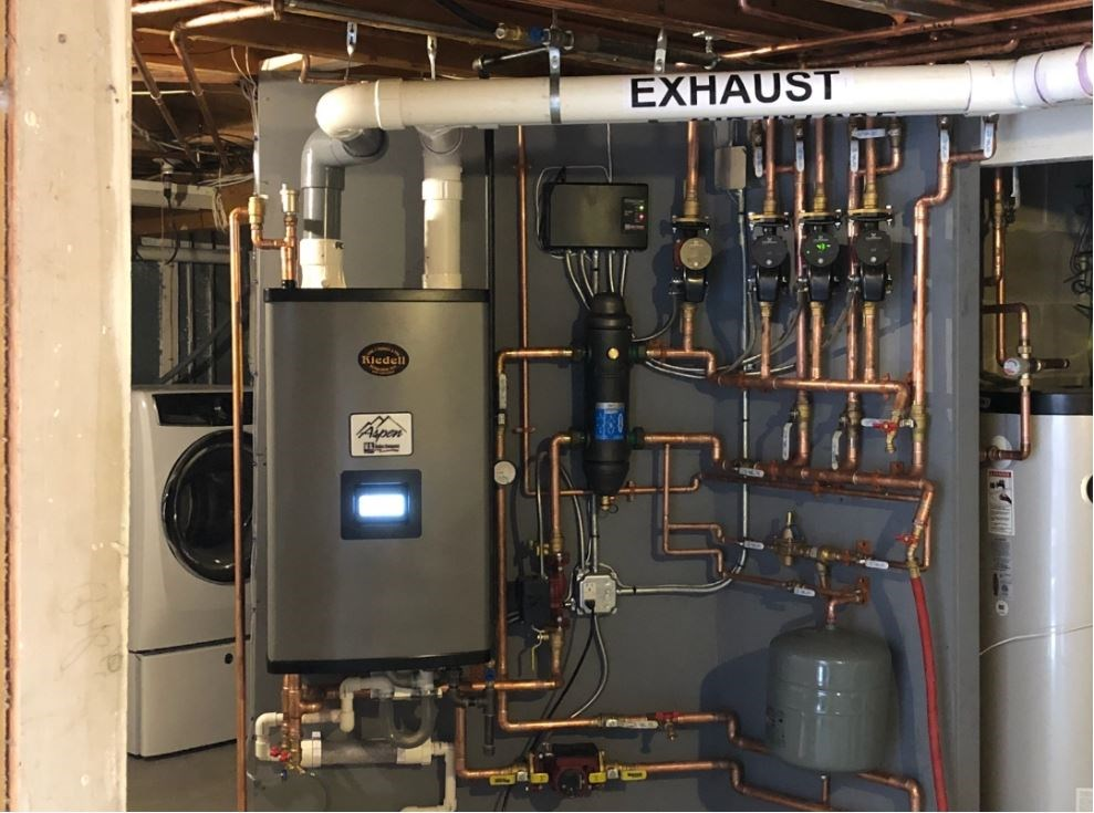 Efficient boiler