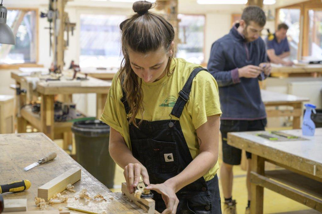 girl making Furniture