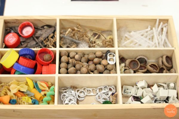 Organized loose parts in Garage