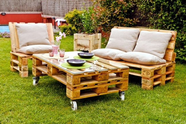 Outdoor Furniture made of wood