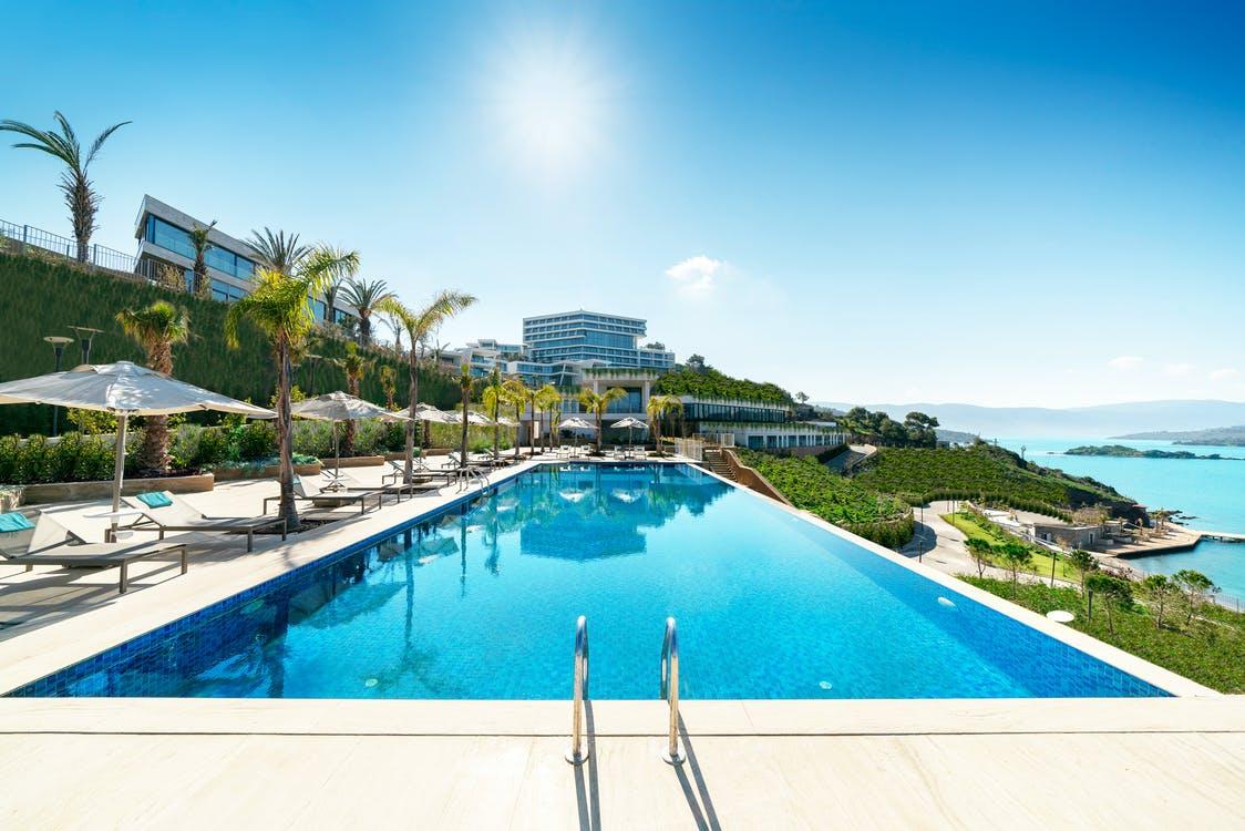 Outdoor swiming pool