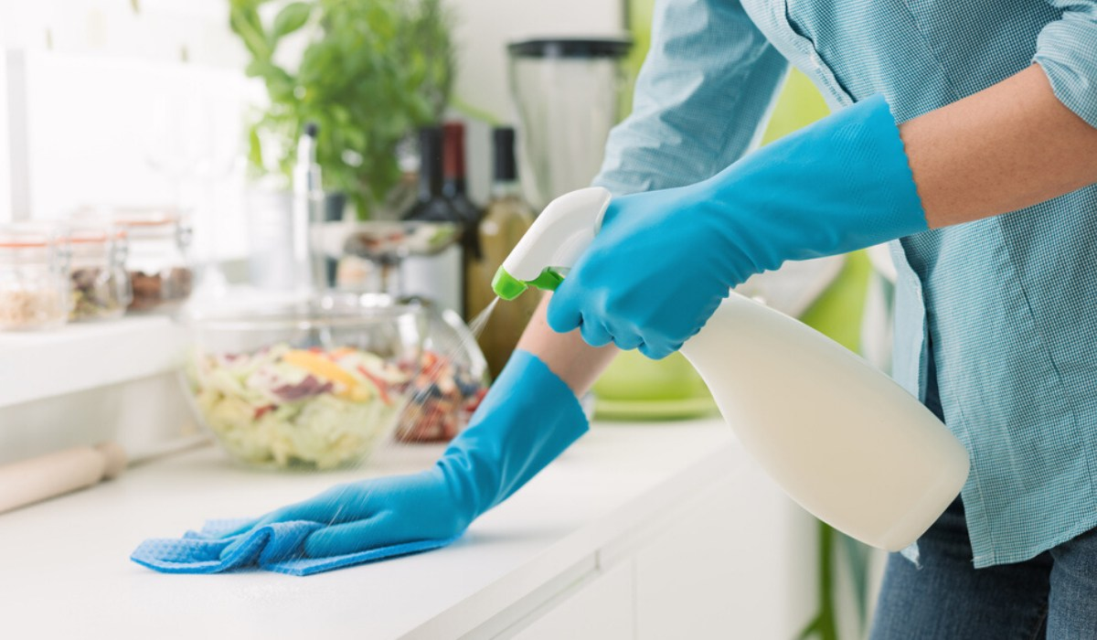 Regularly disinfect the surfaces you touch