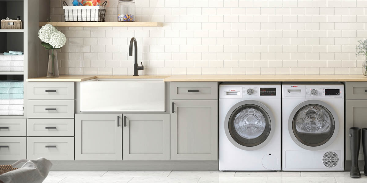 Renovated Laundry Area