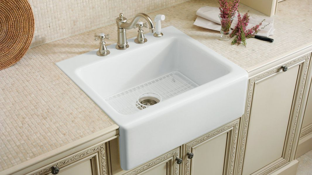 Tile-in Sinks