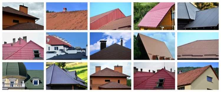 types of materials for roofing