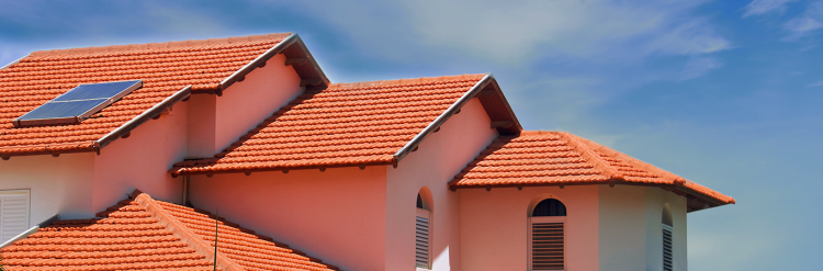 Masnary tile used in roofing