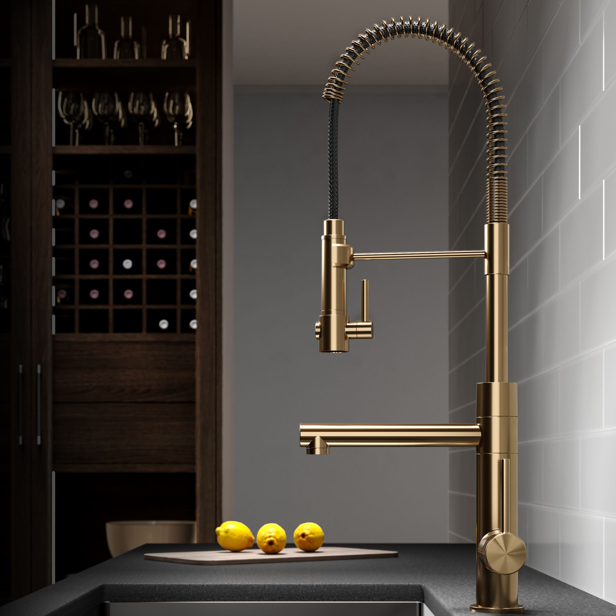 gold-kitchen-faucets