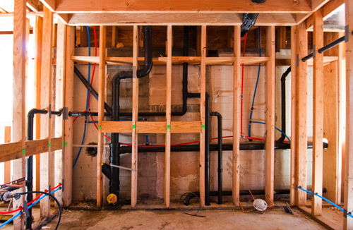 plumbing and electrics