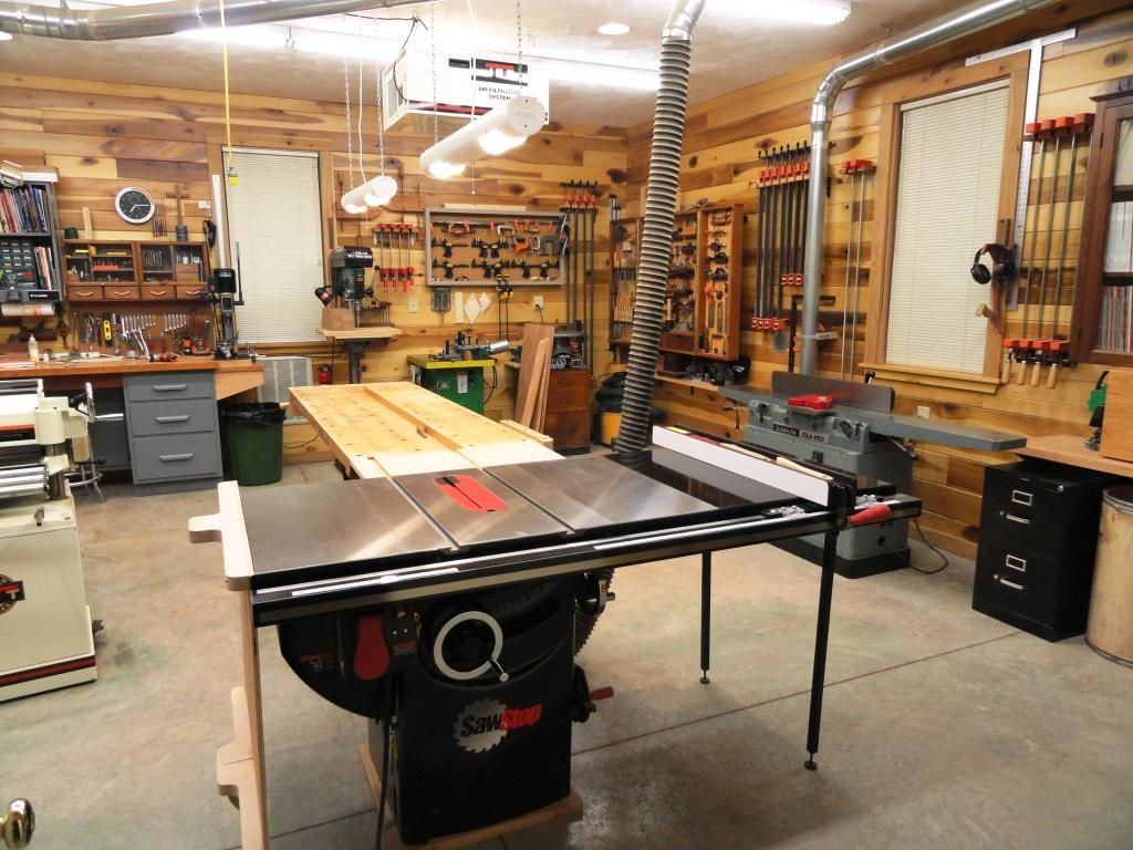 woodworking workplace